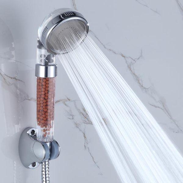 通用接口凈水增壓洗澡花灑負離子過濾淋浴噴頭手持沖涼蓮蓬頭拆洗 js1622『科炫3C』