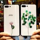 【限時下殺89折】蘋果6splus手機殼玻璃7p全包女新品8小清新硅膠防摔套iphoneX個性交換禮物