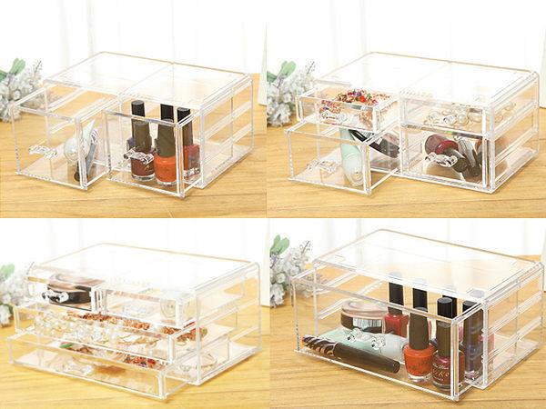 【單層選購區】壓克力 化妝品收納盒 彩妝化妝盒 收納 透明收納架 化妝櫃 彩妝盒【0020038】