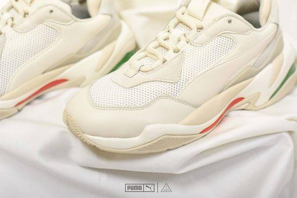 ISNEAKERS Puma Thunder spectra 米白色 gucci配色 泫雅 老爹鞋 女鞋 367516-12