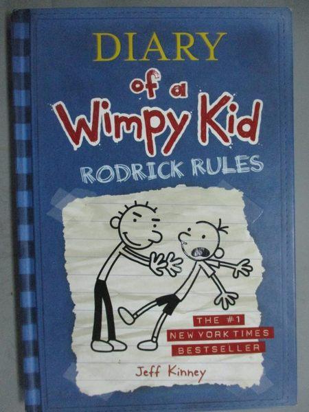 【書寶二手書T2/原文小說_GID】Diary of a Wimpy Kid: Rodrick Rules_Kinney