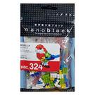 《 Nano Block 迷你積木 》NBMC_324 玫瑰鸚鵡 / JOYBUS玩具百貨