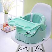 幼兒園家用兒童椅外出便攜式嬰兒輕便寶寶餐椅可折疊【小梨雜貨鋪】
