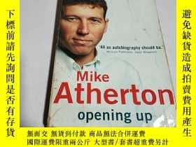 二手書博民逛書店Mike罕見Atherton opening upY200392