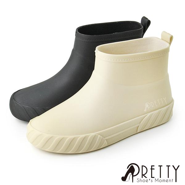 BA-21985 女款質感霧面防水輕巧短筒雨靴/雨鞋【PRETTY】