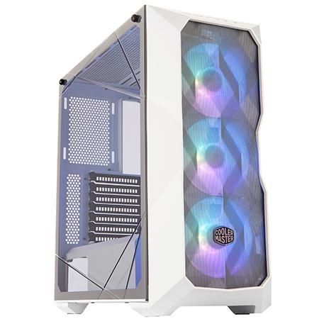 Cooler Master 酷碼 MASTERBOX TD500 MESH White ARGB 強化玻璃側板 E-ATX 電腦機殼 白色 (不含ARGB控制器)