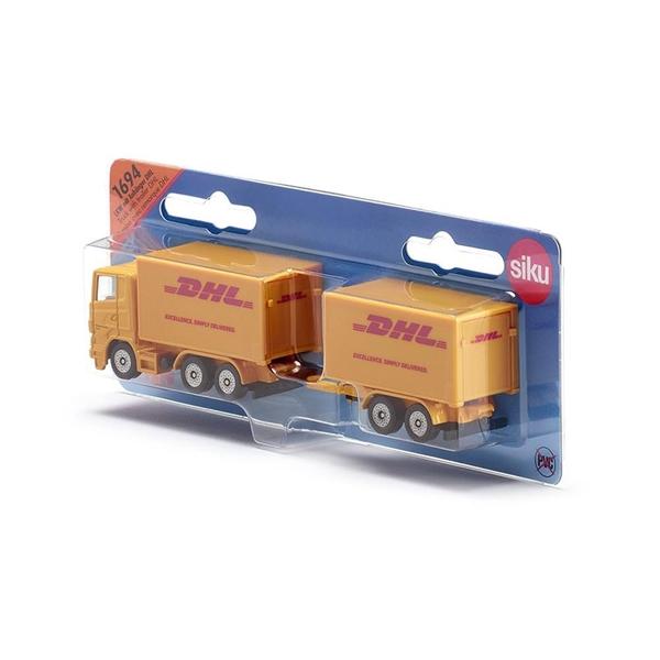 SIKU DHL拖車與貨車_SU1694