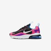Nike Air Max 270 React PS [BQ0100-001] 中童鞋 運動 休閒 氣墊 緩震 籃球 黑粉