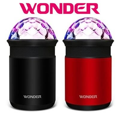 Wonder 旺德 WS-T015U 藍牙隨身音響 / 七彩炫光效果 / 電話自動擴音 / 時尚金屬鋁殼 ☆6期0利率↘☆