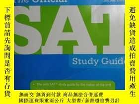 二手書博民逛書店Official罕見Sat Study Guide: For t