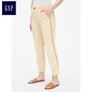 Gap女裝 簡約時尚舒適休閒褲 459841-奶酪黃色