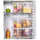 尺寸超過45公分請下宅配日式食品級透明冰箱收納盒帶手柄保鮮盒可