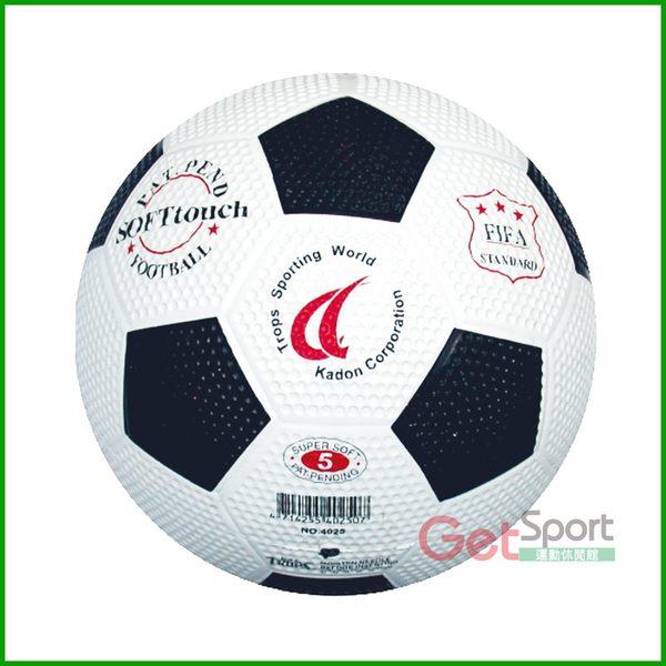 TROPS足球5號(黑白)(高爾夫球面/雙色/SUCCESS)