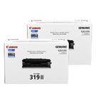 【二支組合】Canon CRG-319 II 黑 原廠高容量碳粉匣 適用 LBP6300 LBP6650 MF419dw LBP253dw 等機型