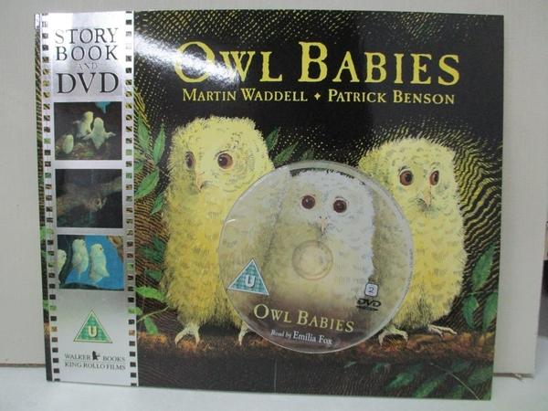 【書寶二手書T1/少年童書_DW9】Owl Babies_Martin Waddell