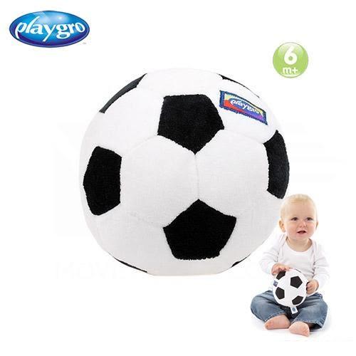 澳洲PLAYGRO 小足球布質玩具
