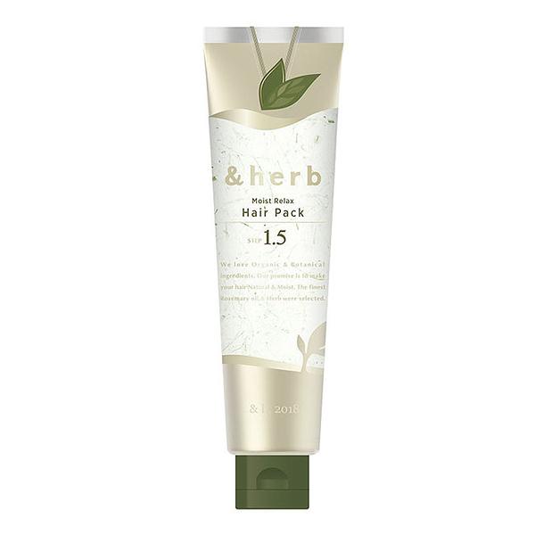 日本&herb植萃頭皮舒活spa髮膜 1.5_130g
