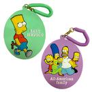 【日本正版】辛普森家庭 彈力 票卡夾 票夾 證件套 悠遊卡夾 造型票卡夾 The Simpsons 611983 611990