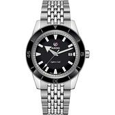 RADO 雷達 庫克船長自動機械腕錶 R32505153 黑