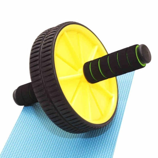 健腹輪 腹肌輪男士家用健身器材訓練器收腹部女士減肚子滾滑輪靜音【限時八五鉅惠】