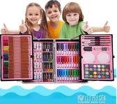 繪畫套裝 兒童畫筆套裝美術用品畫畫工具蠟筆水彩筆套裝幼兒園繪畫套裝女孩YYJ 青山市集