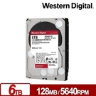 WD WD60EFZX 紅標Plus 6TB 3.5吋NAS硬碟