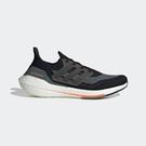 Adidas Ultraboost 21 [FY0389] 男鞋 運動 休閒 支撐 避震 貼合 舒適 愛迪達 黑 灰