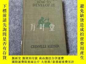 二手書博民逛書店萬葉堂英文原版 word-power罕見how to develop itY25771 出版1920