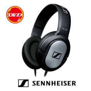 SENNHEISER HD 201 立體耳罩式耳機 HD201 公司貨 兩年保固 送高級8G隨身碟+0利率