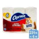 美國【Charmin】超強韌捲筒衛生紙231張*6捲