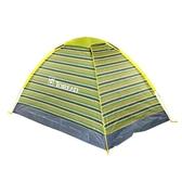 綠探路者雙人單層帳篷情侶戶外徒步旅行登山野營  ATF  聖誕免運