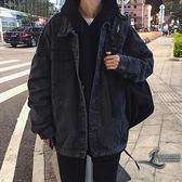 休閒百搭寬鬆休閒上衣韓版夾克【邻家小鎮】