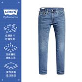 Levis 男款 上寬下窄 / 502 Taper牛仔褲 / Cool Jeans 輕彈有型 / 中藍刷白