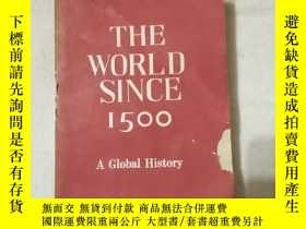 二手書博民逛書店THE罕見WORLD SINCE 15006856 L S ST