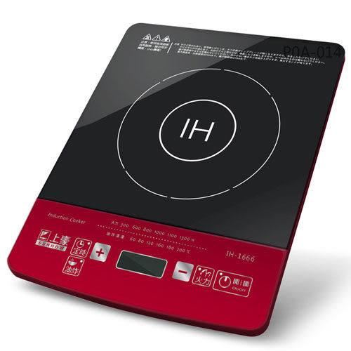 【中彰投電器】SUNHOW上豪微電腦電磁爐,IH-1666【全館刷卡分期+免運費】