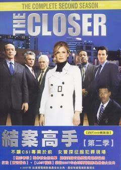 歐美影集 結案高手 第二季 DVD  (音樂影片購)