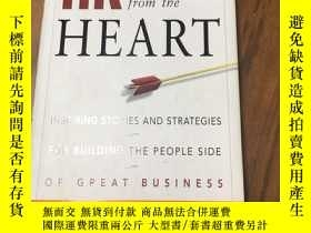 二手書博民逛書店HR罕見from the Heart: Inspiring Stories and Strategies for