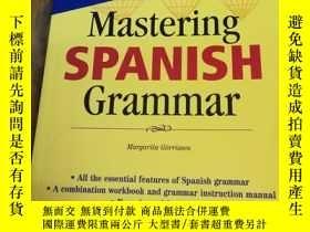 二手書博民逛書店Mastering罕見Spanish Grammar (Barr