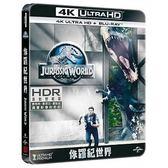 侏儸紀世界 UHD+BD 鐵盒收藏版 藍光BD (OS小舖)