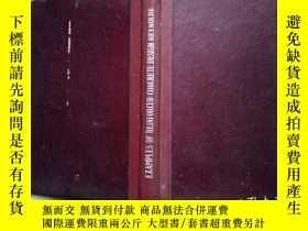 二手書博民逛書店大32開罕見精裝本:EXAMPLES OF THE DESIGN