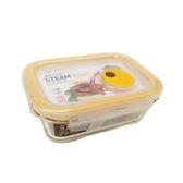 樂扣樂扣 輕鬆熱耐熱玻璃保鮮盒-長方形(1.0L)【愛買】