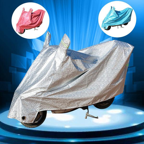 雨衣 雨罩 電動車踏板摩托車車衣車罩防曬遮陽防雨罩電瓶車蓋布加厚防塵罩子【莎芭】