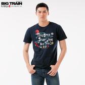 Big Train 和風家徽圓領短袖T男款-男Z80162