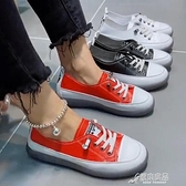 娃娃鞋 娃娃鞋女圓頭2020春季新款韓版百搭淺口單鞋平底軟皮爆款豆豆鞋夏 原本良品