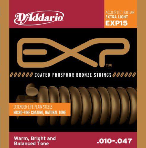 【小叮噹的店】全新 美國 D addario 木吉他弦 EXP15 / EXP16 / EXP26 磷青銅包覆 公司貨