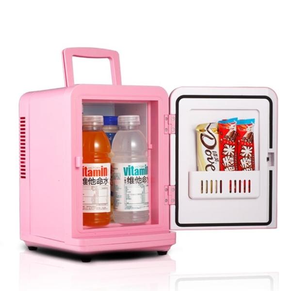 索美特6L車載冰箱車家兩用冷暖箱迷你小冰箱學生宿舍化妝品母乳-享家