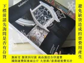 二手書博民逛書店Sotheby s罕見:Important Watches(5