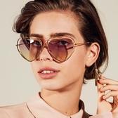 Chloe 墨鏡 CE131S 239 (玳瑁-金) 簍空金屬 心型 淺水銀 太陽眼鏡 久必大眼鏡