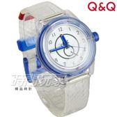 Q&Q SmileSolar mini冰淇淋款 日本機芯 008太陽能錶 冰淇淋蘇打 透明白 女錶 防水手錶 學生錶 RP01J008Y