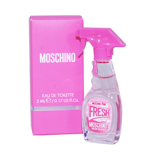 【MOSCHINO】Pink Fresh 小粉紅.清新 女性淡香水 5ml - 原廠沾式